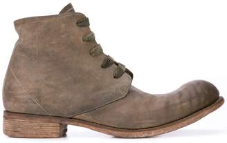 A Diciannoveventitre distressed lace-up ankle boots