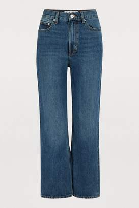 Proenza Schouler Pswl Cropped jeans