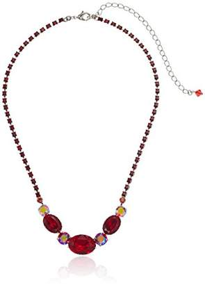 Sorrelli Ruby Standing Ovation Necklace