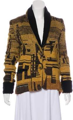 Etro Knit Long Sleeve Cardigan