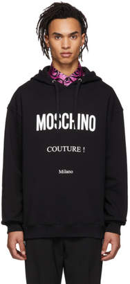 Moschino Black Couture Hoodie