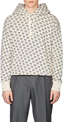 Gucci Men's Invitation-Print Cotton Terry Sweatshirt
