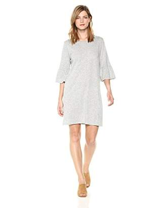 Velvet by Graham & Spencer Women's Annabelle Ruffle Sleeve tee Dress