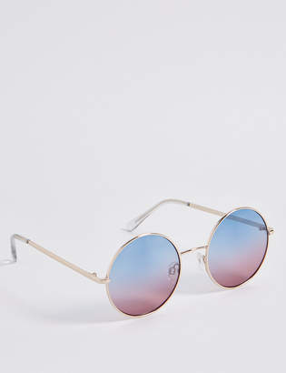 M&S Collection Metal Round Sunglasses