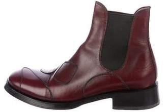 Gianni Barbato Leather Chelsea Boots