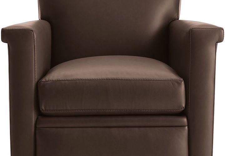 Crate & BarrelDeclan Leather Recliner