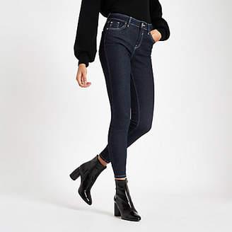 River Island Womens Dark denim Amelie skinny jeans