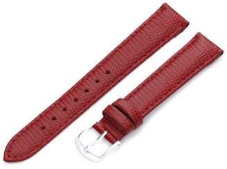 Hadley-Roma Men's MSM725RQ 160 16-mm Java Lizard Grained Leather Watch Strap