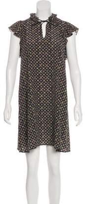 Louis Vuitton Silk Monogram Dress