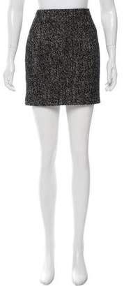 Joseph Wool Mini Pencil Skirt