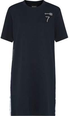 Markus Lupfer Alex Appliquéd Stretch-Knit Mini Dress