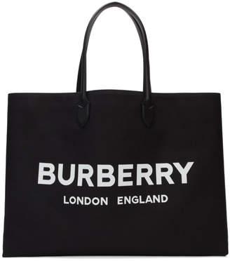Burberry Black Lewes Tote
