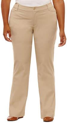 ST. JOHN'S BAY Bi-Stretch Pants - Plus