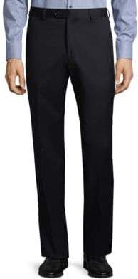 Saks Fifth Avenue Wool Straight-Leg Pants