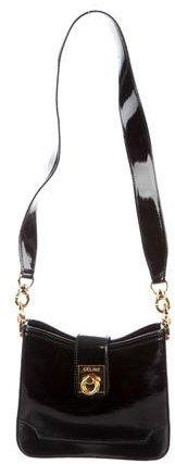 CelineCéline Patent Leather Shoulder Bag