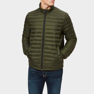 Tommy Hilfiger Men's Light Weight Packable Down Bomber Jacket