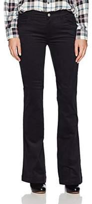 Armani Jeans Women's Mid Rise Wide Leg Jeans