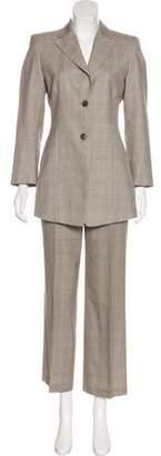 Akris Wool & Silk-Blend Pantsuit