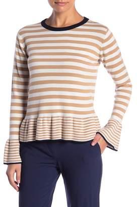 ENGLISH FACTORY Stripe Knit Top