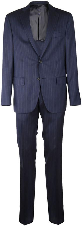 CarusoCaruso Stripe Formal Suit