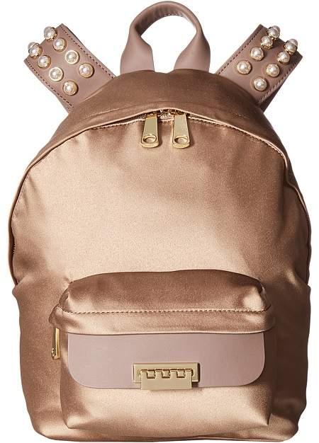 ZAC Zac Posen - Eartha Iconic Small Backpack - Satin Backpack Bags