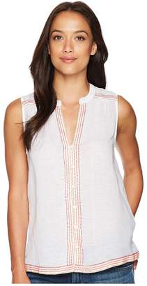 Lucky Brand Embroidered Tank Top Women's Sleeveless