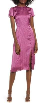 Leith Printed Side Slit Dress