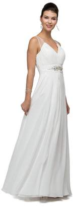 DANCING QUEEN A-Line Off White Bridal Gown