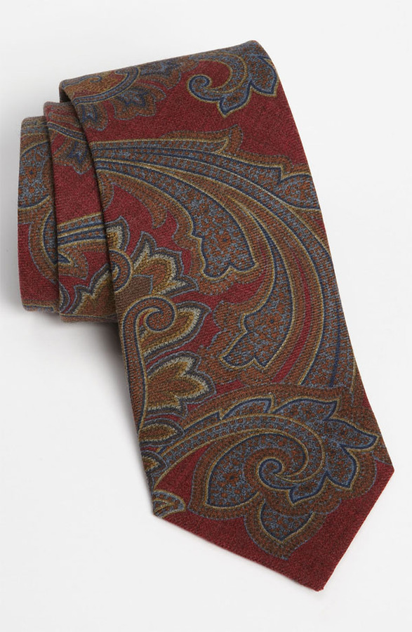 John W. Nordstrom Wool Tie