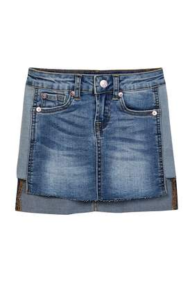 7 For All Mankind Denim Skirt (Little Girls)