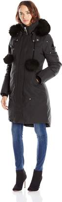 Moose Knuckles Women's Sterling Parka With Fur Trim Hood