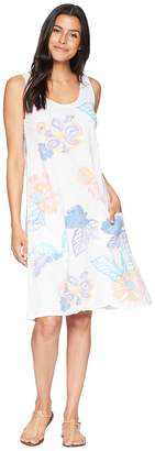 Fresh Produce Summer Floral Drape Dress Women's Dress