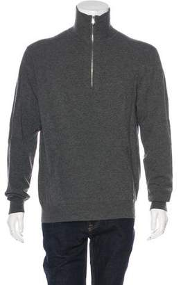 Theory Half-Zip Knit Sweater