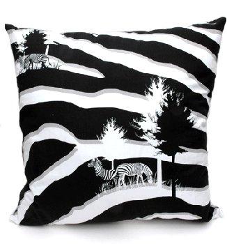 upper playground Zebra Pillow