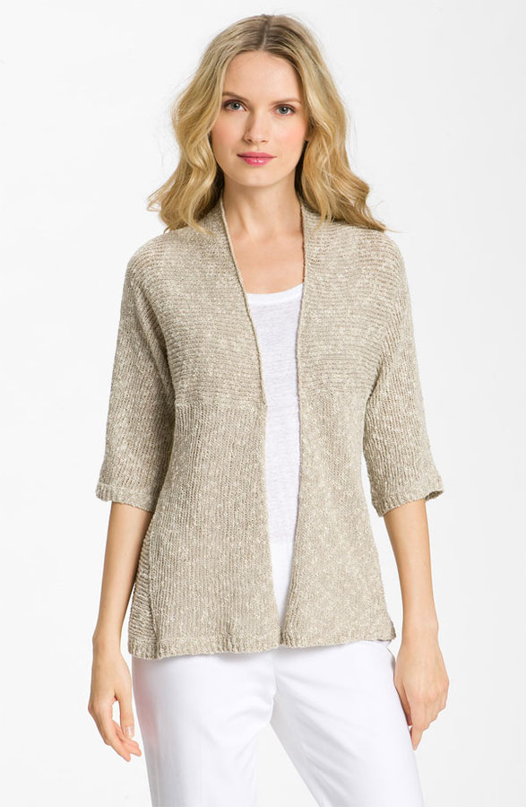 Eileen Fisher Shaped Cardigan (Petite)