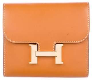 Hermes 2016 Butler Constance Compact Wallet