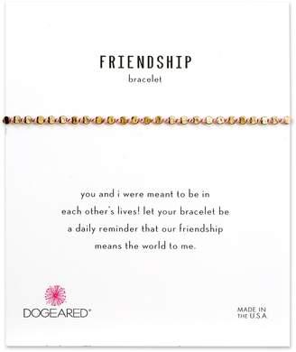 Dogeared Flat Bead Pin Friendship Bracelet
