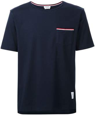 Thom Browne logo detail T-shirt