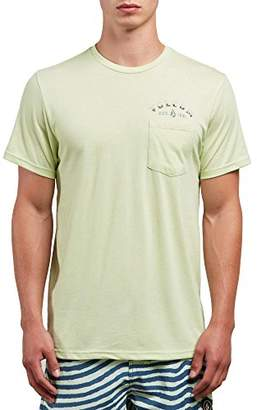 Volcom Men's Signer Short Sleeve Pocket Tee