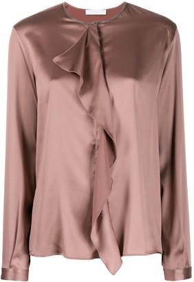 Fabiana Filippi draped detail blouse