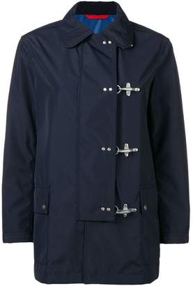 Fay off-centre button jacket