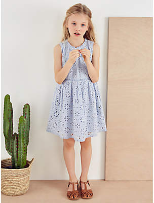 8d0f0f349 Mint Velvet Mintie by Girls' Broderie Sleeveless Dress, ...