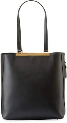 Donna Karan Mally North/South Leather Tote Bag