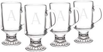 Personalized Gifts Personalized Irish Coffee Mugs (Set of 4)