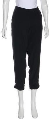Tory Burch Silk Cropped Pants