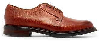 Cheaney Deal Grained Leather Derby Shoes - Mens - Burgundy