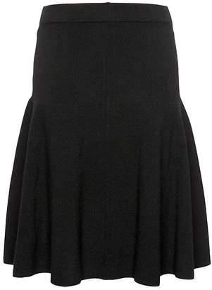 Banana Republic Flounce Sweater Skirt