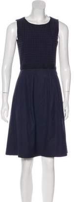 HUGO BOSS Boss by Textured Sleeveless Dress
