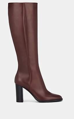 Gianvito Rossi Women's Josseline Leather Knee Boots - Wine