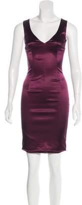Dolce & Gabbana Satin Mini Dress